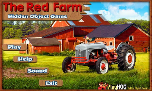 Red Farm Find Hidden Objects