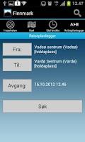 Screenshot of Reiseplanlegger 177 Finnmark