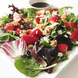 Spinach & Strawberry Salad.