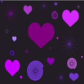 Panda Dark Purple Valentine