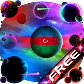 Azerbaijan Flag Planet Free