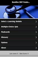 Screenshot of EMT-Basic Guide & Quiz