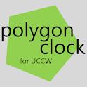Polygon Clock - UCCW Skin icon