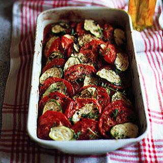 Tomato–Zucchini Tian Recipe