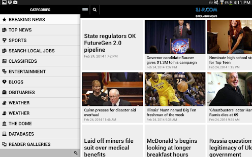 The State Journal-Register - screenshot thumbnail
