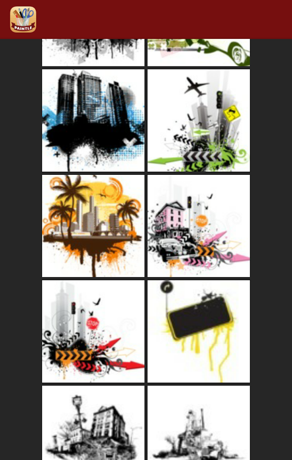 Paintle - Fun Photo Collages- screenshot