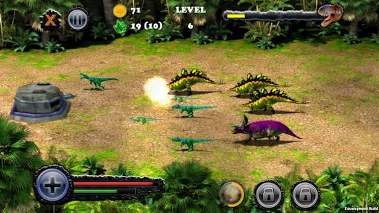 【免費街機App】Dino Bunker Defense-APP點子