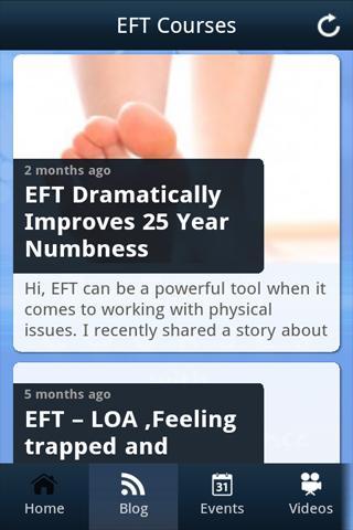 Eft courses- screenshot