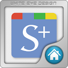Social + Launcher Theme Apex 4 icon