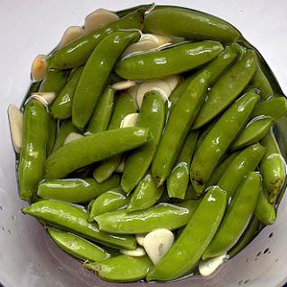 Pickled Sugar Snap Peas.