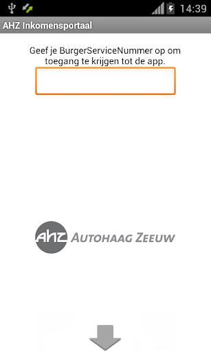 AHZ Inkomensportaal