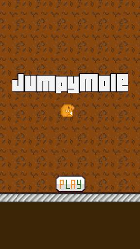 【免費街機App】Jumpy Mole-APP點子