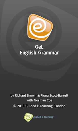 GeL:Aims English Grammar