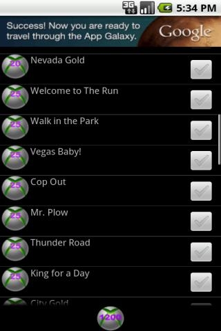 Achievements 4 NFS Most Wanted - screenshot