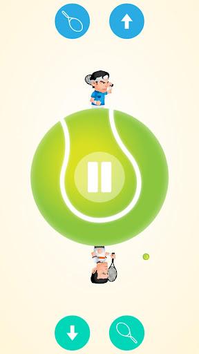圆形的网球2人游戏