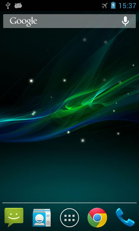 Wave Z Live Wallpaper- screenshot