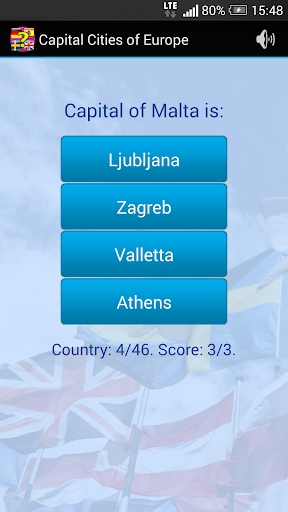 Quiz: Capital Cities of Europe