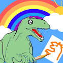 Coloring Book(dinosaur)  draw