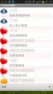 iT 台灣快速求助電話