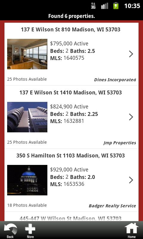 Restaino & Associates Realtors - screenshot