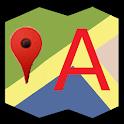 AToMap icon