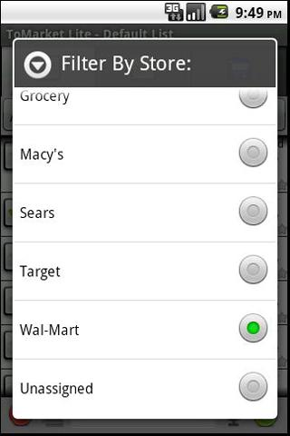 ToMarket Grocery Shopping Pro - screenshot