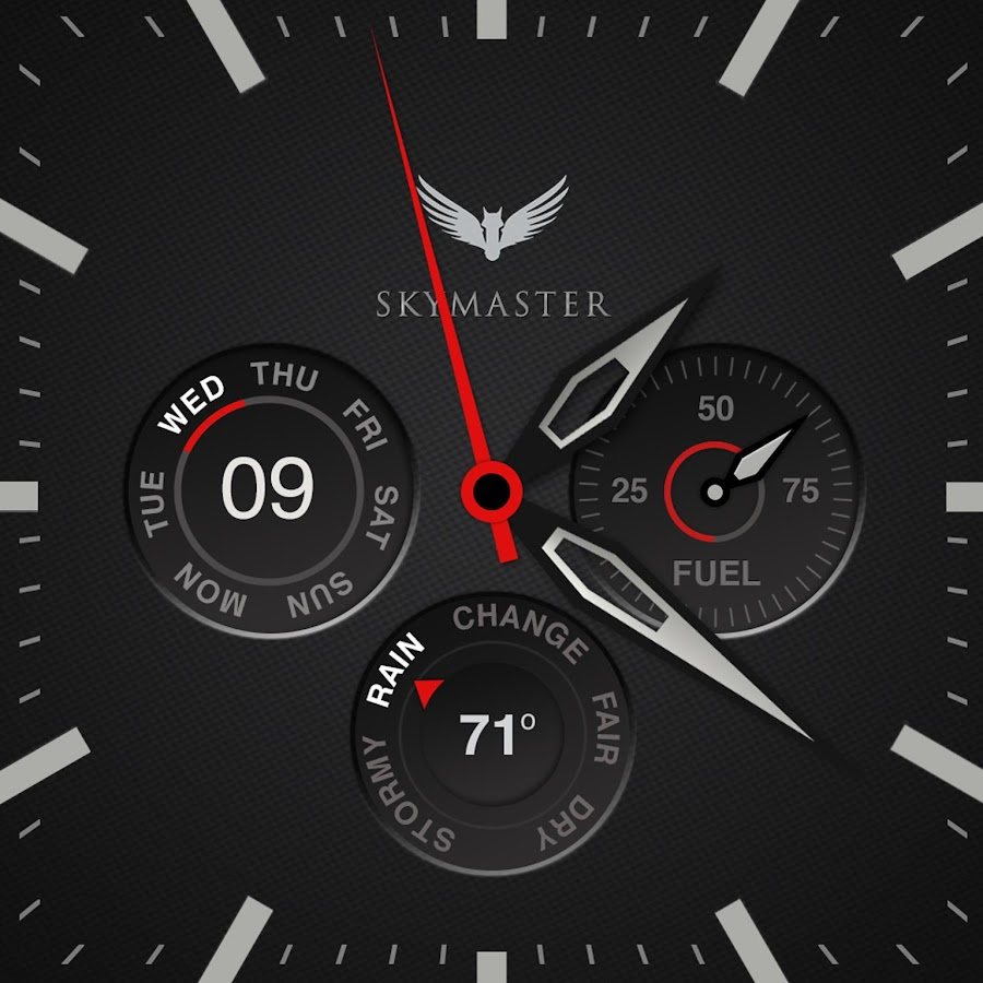 Skymaster Pilot Watch Face- screenshot