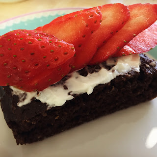Healthy Protein Chocolate Cake.
