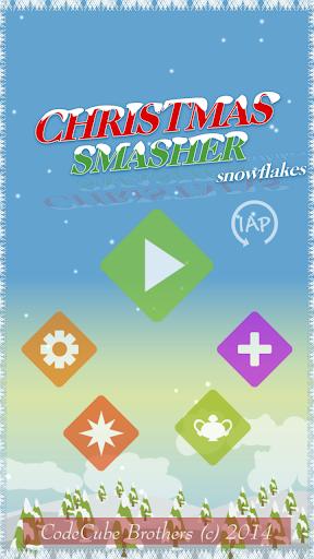 Christmas Smasher - Snowflakes