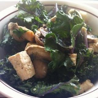 Savory Shitake and Kale Bowl with Brown Rice