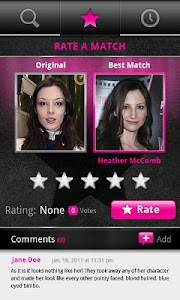 PicFace Celebrity Matchup screenshot 0