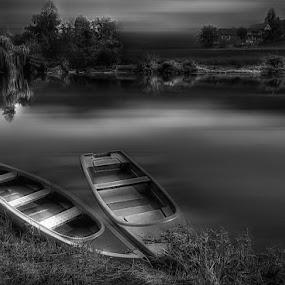 silence by Mirela Korolija - Black & White Landscapes