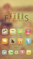 Screenshot of Four Jokers GO Launcher Theme