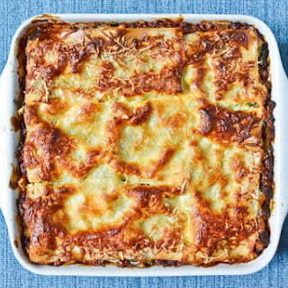 Meat and Vegetable Lasagna.