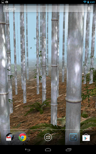 Bamboo Forest 3D LWP Free