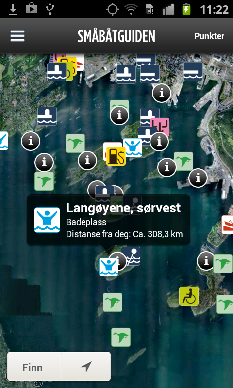 Småbåtguiden- screenshot