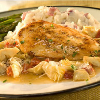 Chicken With Artichokes & Sun-dried Tomato.