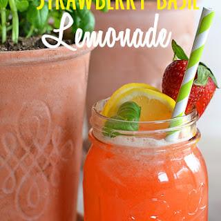 Strawberry Basil Lemonade.