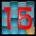 絶対にできない15パズル logo