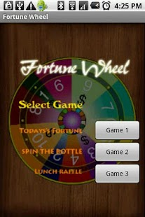 Fortune Wheel Spin the bottle