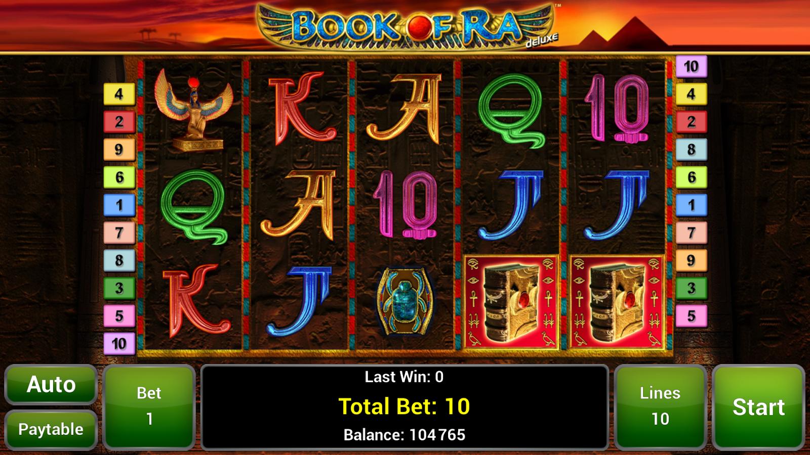 Book of Ra™ Deluxe Slot - screenshot