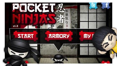 Pocket Ninjas Screenshot 1