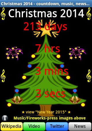 Christmas 2014 Countdown+Songs