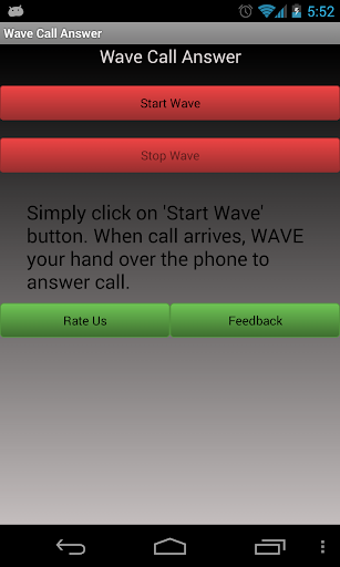 Wave Call Answer