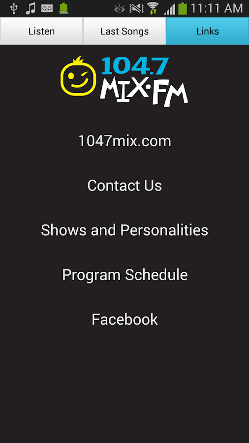 104.7 MIX-FM - KMJO - Fargo - screenshot