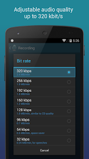 Hi-Q MP3 Voice Recorder (Full) - screenshot thumbnail