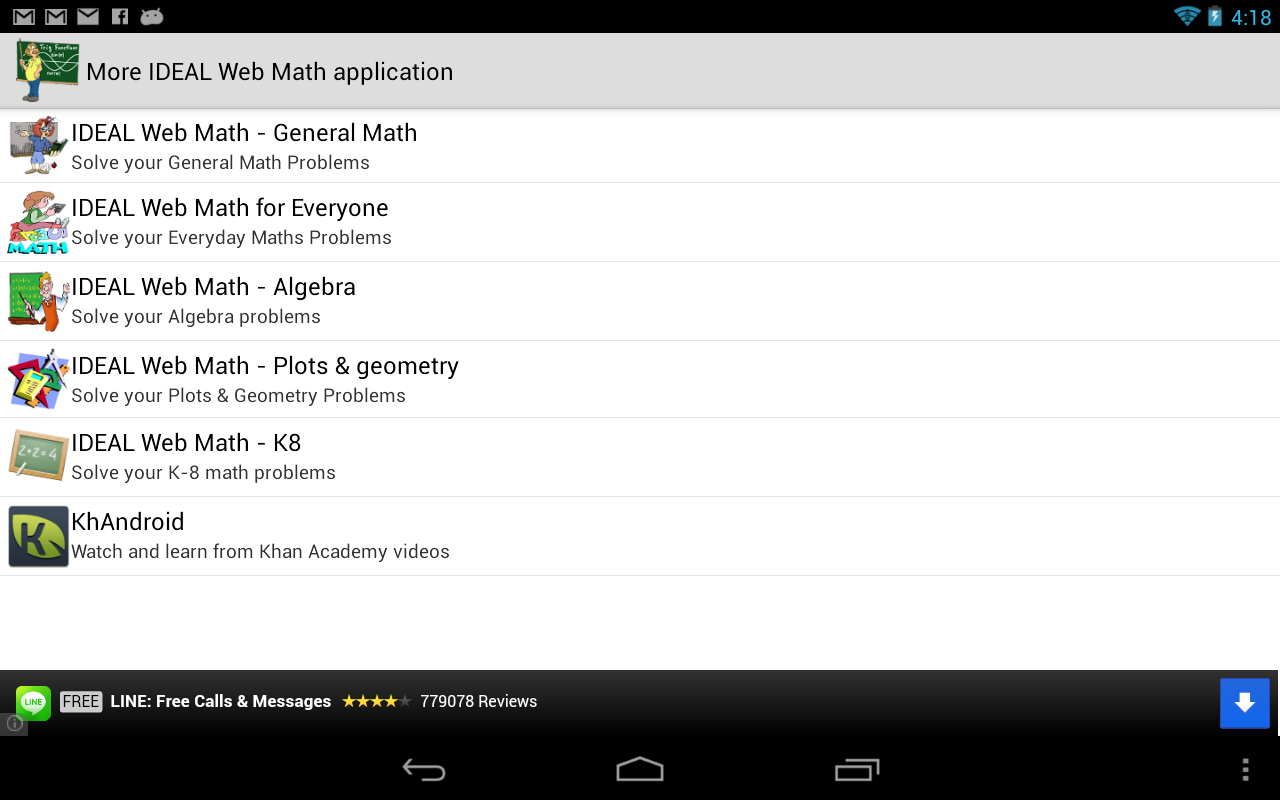 ideal web math trig calculus android apps on google play ideal web math trig calculus screenshot