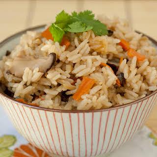 Takikomi Gohan, Japanese Mixed Rice.