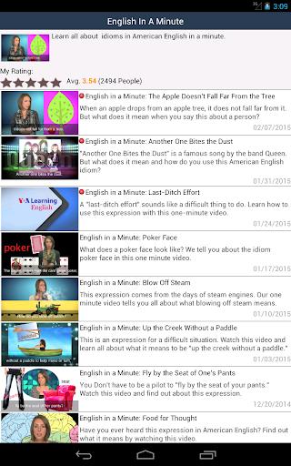 【免費教育App】VOA英語-廣播電台,學初級慢速英語與標準美國英語,字幕視頻-APP點子