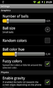 Bouncing Balls Live Wallpaper - screenshot thumbnail